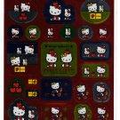 Sanrio Japan Hello Kitty Sticker Sheet 2001 Kawaii