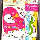 San-X Japan Mamegoma Music Letter Set Kawaii