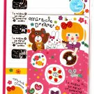 Mind Wave Japan Miracle Dreamer Letter Set with Stickers Kawaii