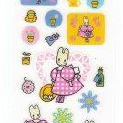 Sanrio Japan Marron Cream Sticker Sheet (B) 1997 Kawaii