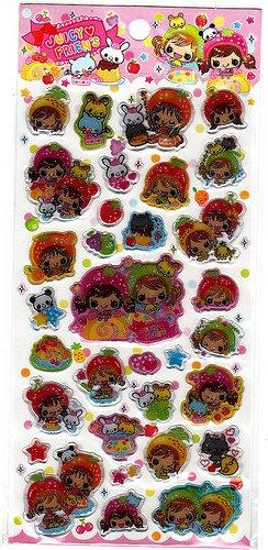Pool Cool Japan Juicy Friends Sticker Sheet Kawaii