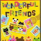 Kamio Japan Wonderful Friends Mini Memo Pad (B) Kawaii