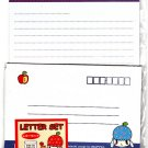 Daiso Japan Usapple Letter Set (D) Kawaii