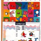 Sun-Star Japan Popets Town Letter Set with Stickers Kawaii