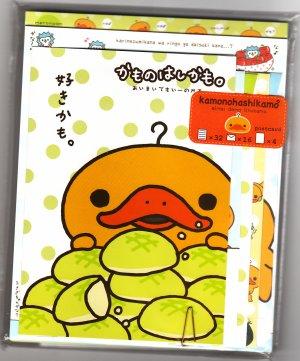 San-X Japan Kamonohashikamo Letter Set with Postcards Kawaii