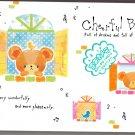 Crux Japan Cheerful Bear Memo Pad Kawaii