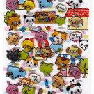 Crux Japan Wai Wai Animals Sticker Sheet (A) Kawaii