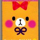 Q-Lia Japan Creamy Rabbit Mini Memo Pad Kawaii