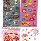 Sanrio Japan Cinnamoangels Variety Sticker Sheet with Mini Sticker Album Kawaii