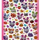 Q-Lia Japan Bunnies and Sweets Sticker Sheet Kawaii