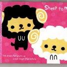 Crux Japan Sheep To Move Mini Memo Pad Kawaii