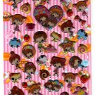 Crux Japan Sweet Crunch Puffy Sticker Sheet Kawaii