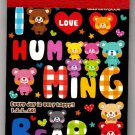 Q-Lia Japan I Love Humming Bear Mini Memo Pad Kawaii