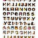 Media Factory Japan Usarusan Alphabet Sticker Sheet Kawaii