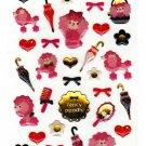 Mind Wave Japan Fancy Poodle Epoxy Sticker Sheet Kawaii