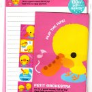 Kamio Japan Petit Orchestra Letter Set with Stickers Kawaii