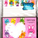 Kamio Japan Colorful Candy Letter Set with Stickers Kawaii