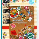 Mind Wave Japan Children Hour Letter Set with Stickers Kawaii