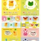 San-X Licensed Nakayoshi Net Long Sticker Sheet (B) Kawaii