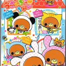 Crux Japan Bears House Memo Pad with Stickers Kawaii