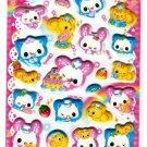 Kamio Japan Happy March Puffy Sticker Sheet (B) Kawaii