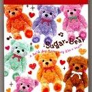 Q-Lia Japan Sugar Bear Mini Memo Pad Kawaii