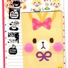 Q-Lia Japan Creamy Rabbit Letter Set with Stickers Kawaii