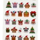 Active Japan Merry Christmas Epoxy Sticker Sheet (B)  Kawaii