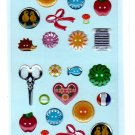 S&C Japan Lumiere Basic Autocollant Epoxy Sticker Sheet Kawaii
