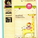 Crux Japan Animal Petty Letter Set with Stickers Kawaii