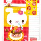 Daiso Japan The Cake Makes Me Happy Letter Set with Stickers Kawaii
