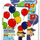 Sanrio Japan Patty & Jimmy Balloons Letter Set with Stickers Kawaii