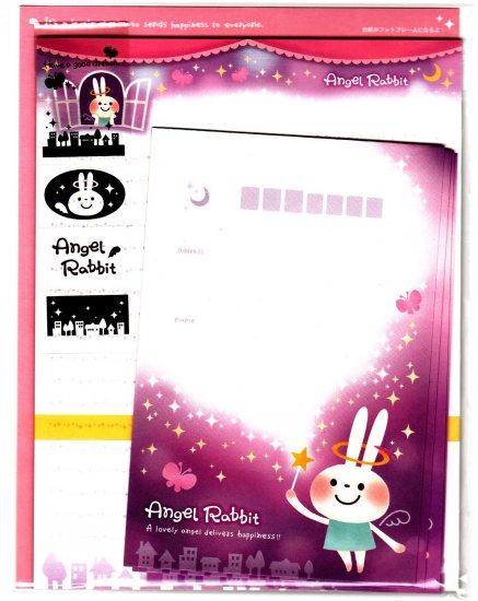 Mind Wave Japan Angel Rabbit Letter Set with Stickers Kawaii