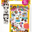 Kamio Japan Drawing Party Letter Set with Stickers Kawaii