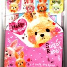 Q-Lia Japan Sugar Rabbit Letter Set with Stickers Kawaii