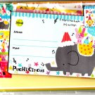 Crux Japan Puchi Circus Letter Set with Stickers Kawaii