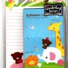 Kamio Japan Elephant Life Letter Set with Sticker Kawaii
