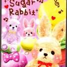 Q-Lia Japan Sugar Rabbit Mini Memo Pad (B) Kawaii