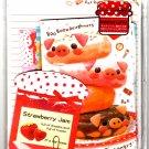 Crux Japan Boo Boo Doughnuts Letter Set Kawaii