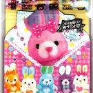 Kamio Japan Rabbit Toy Box Letter Set with Stickers Kawaii