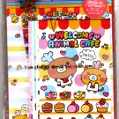 Wizard Japan Welcome Animal Cafe Letter Set with Stickers Kawaii