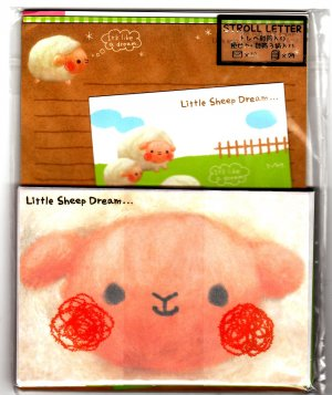 Kamio Japan Little Sheep Dream Letter Set Kawaii