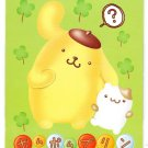 Sanrio Japan Pom Pom Purin Notepad with Stickers Rare 2000 Kawaii