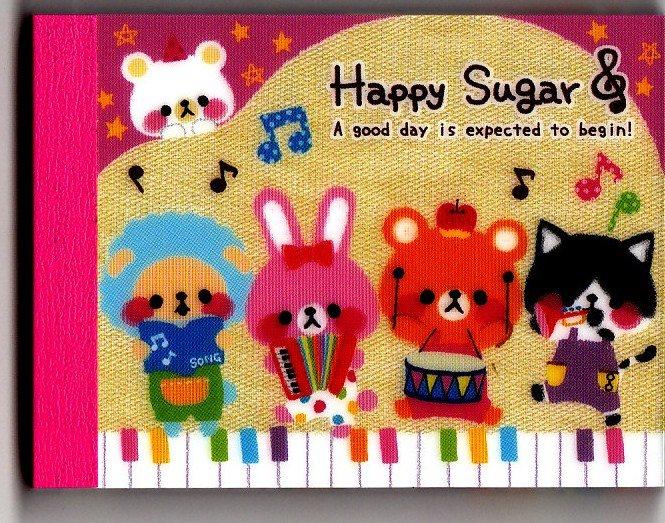 Kamio Japan Happy Sugar Mini Memo Pad Kawaii