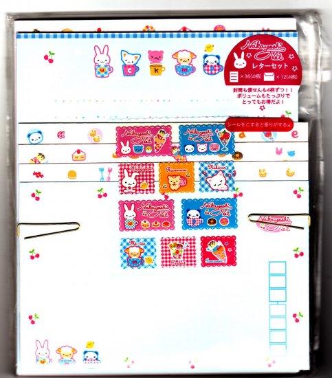 San-X Japan Nakayoshi Net Letter Set with Stickers 2004 Rare Kawaii
