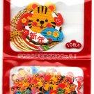Sakura Japan Year of the Tiger Washi Paper Sticker Sack #7 Kawaii