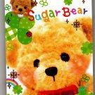 Q-Lia Japan Sugar Bear Mini Memo Pad (B) Kawaii