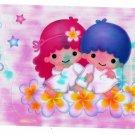 Sanrio Japan Little Twin Stars Big Sticker Sheet 1999 Kawaii