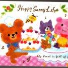 Kamio Japan Happy Sunny Life Mini Memo Pad Kawaii