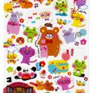 Q-Lia Japan Welcome Animals Sticker Sheet Kawaii